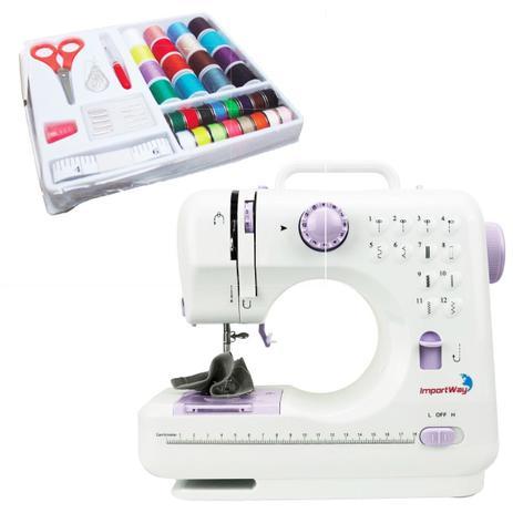 Maquina De Costura Multifuncional Portatil Com Kit Costura  - FISHPET Comércio de Acessórios para Animais Ltda.