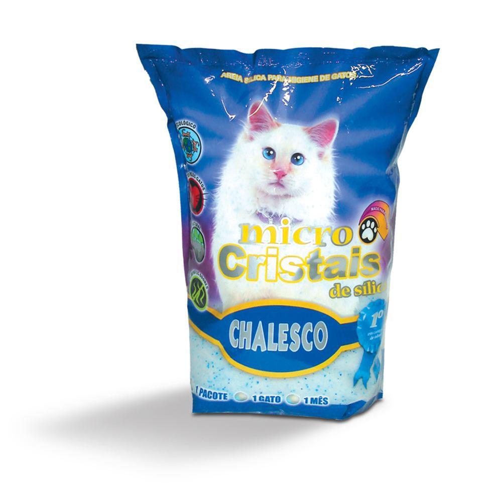 MICRO CRISTAIS DE SILICA 1,8 KG CHALESCO  - FISHPET Comércio de Acessórios para Animais Ltda.