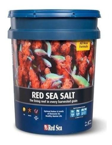 Sal Red Sea 22kg 660 Litros Nova Formula Balde  - FISHPET Comércio de Acessórios para Animais Ltda.