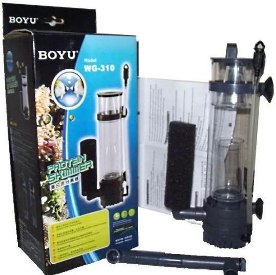 Skimmer Boyu Wg 310 Para Aquário Marinho Até 120 Litros  - FISHPET Comércio de Acessórios para Animais Ltda.