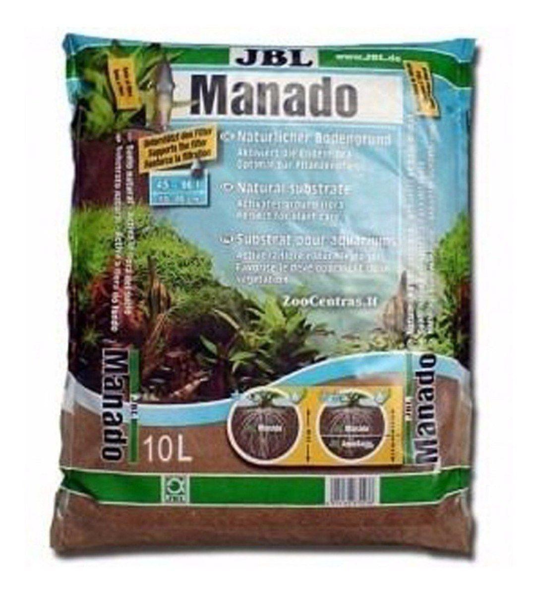 Substrato Fértil Jbl Manado 10 Litros P/ Aquários Plantados  - FISHPET Comércio de Acessórios para Animais Ltda.