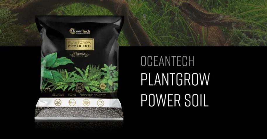 Substrato Fertil Plant Grow Power Soil 2,5kg Ocean Tech  - FISHPET Comércio de Acessórios para Animais Ltda.