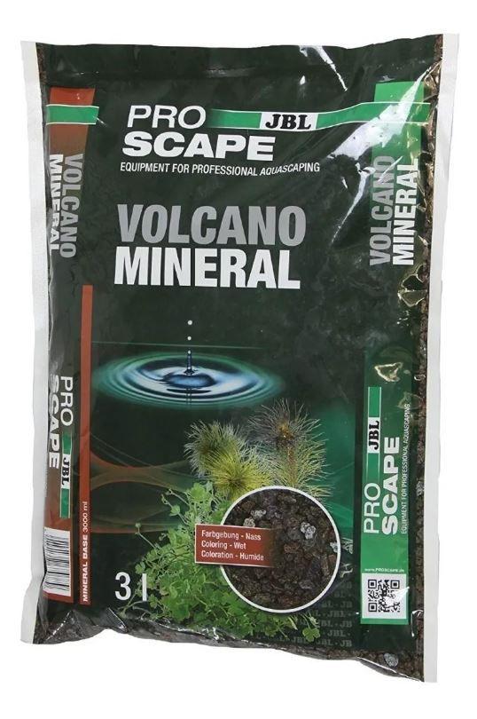 Substrato Volcano Rocha Vulcânica granulada JBL 3L  - FISHPET Comércio de Acessórios para Animais Ltda.