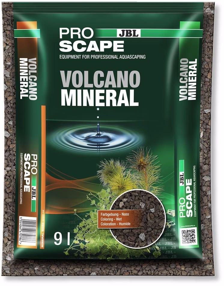 Substrato Volcano Rocha Vulcânica granulada JBL 9L  - FISHPET Comércio de Acessórios para Animais Ltda.