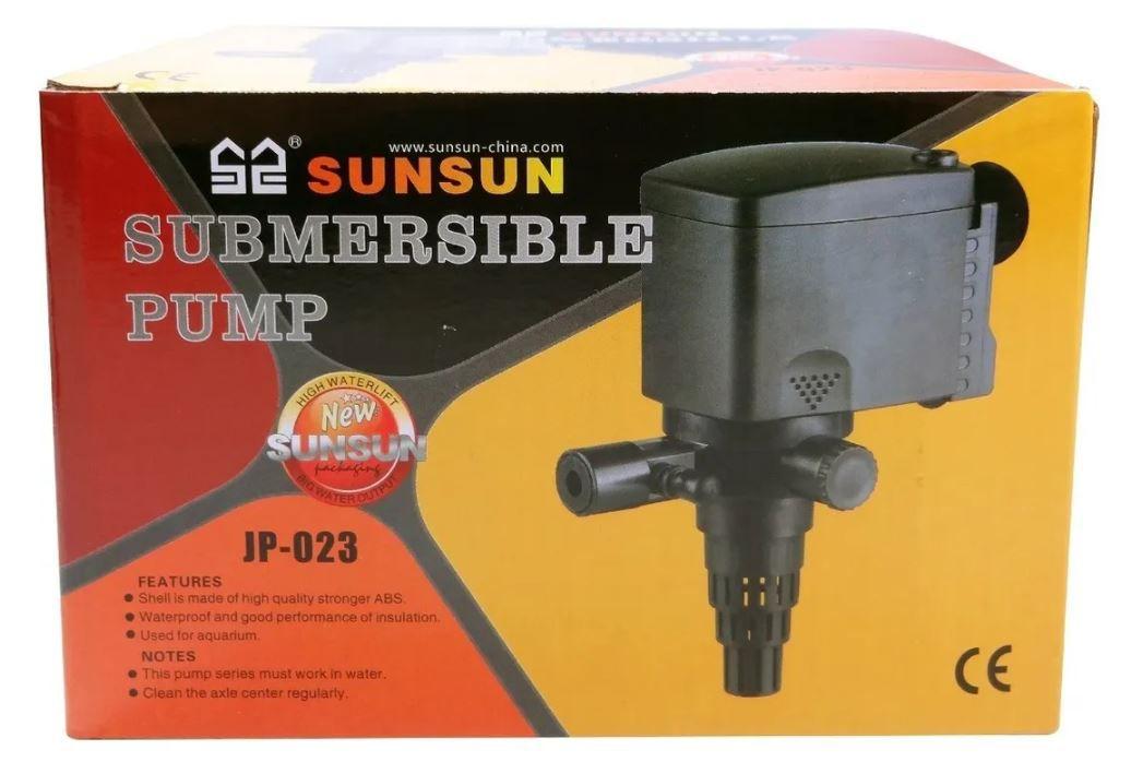 Sunsun Jp-023 Bomba Submersa Para Aquário Lago 1000 L/hr 16w  - FISHPET Comércio de Acessórios para Animais Ltda.