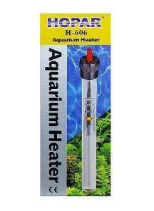 Termostato Hopar Quartz H-606 100w (26cm) - 220V  - FISHPET Comércio de Acessórios para Animais Ltda.