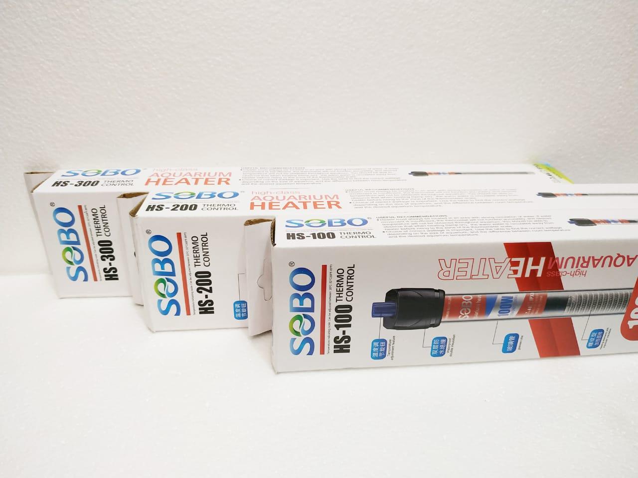 Termostato SOBO HS  - FISHPET Comércio de Acessórios para Animais Ltda.