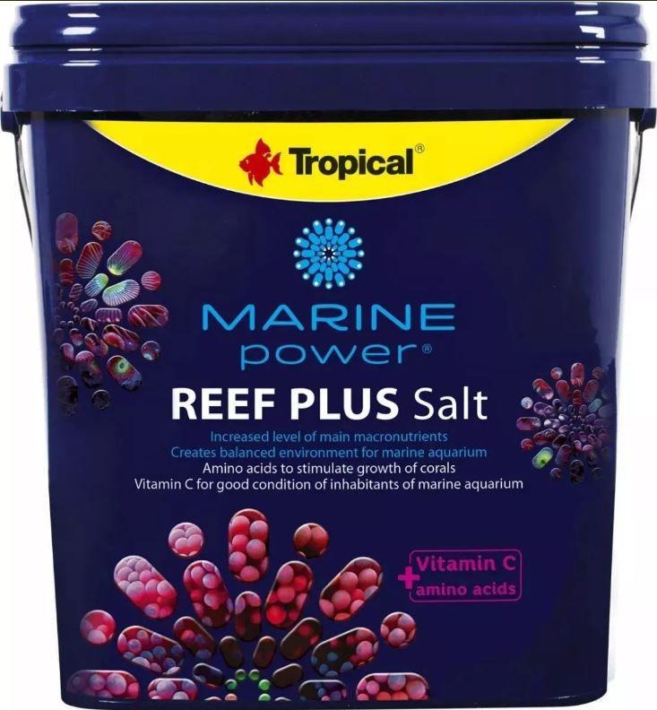 Tropical Marine Power Reef Plus Salt - Balde 5kg  - FISHPET Comércio de Acessórios para Animais Ltda.