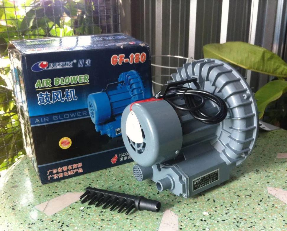 Turbina De Ar Soprador Resun Gf-180 Lago Tanque  - FISHPET Comércio de Acessórios para Animais Ltda.