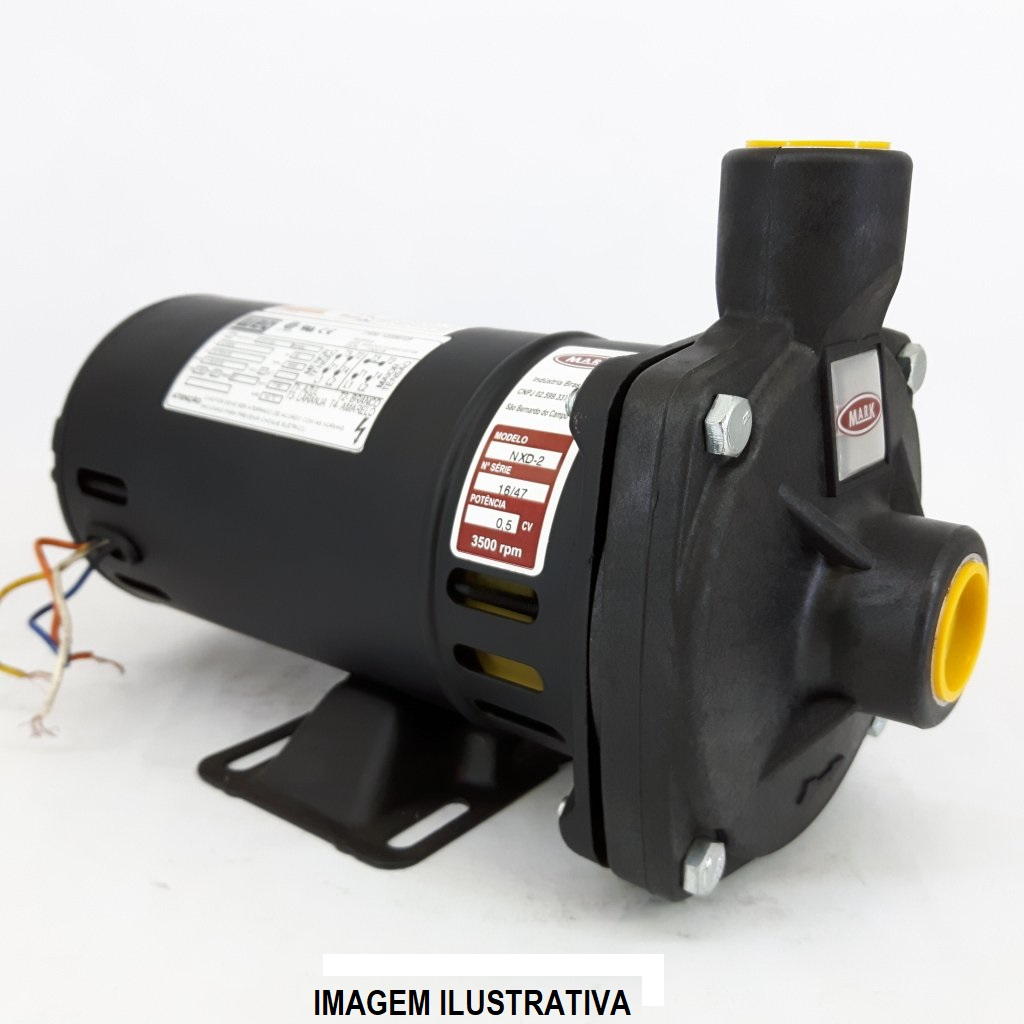 BOMBA MARK NXDP2 0,5CV MONO 220V