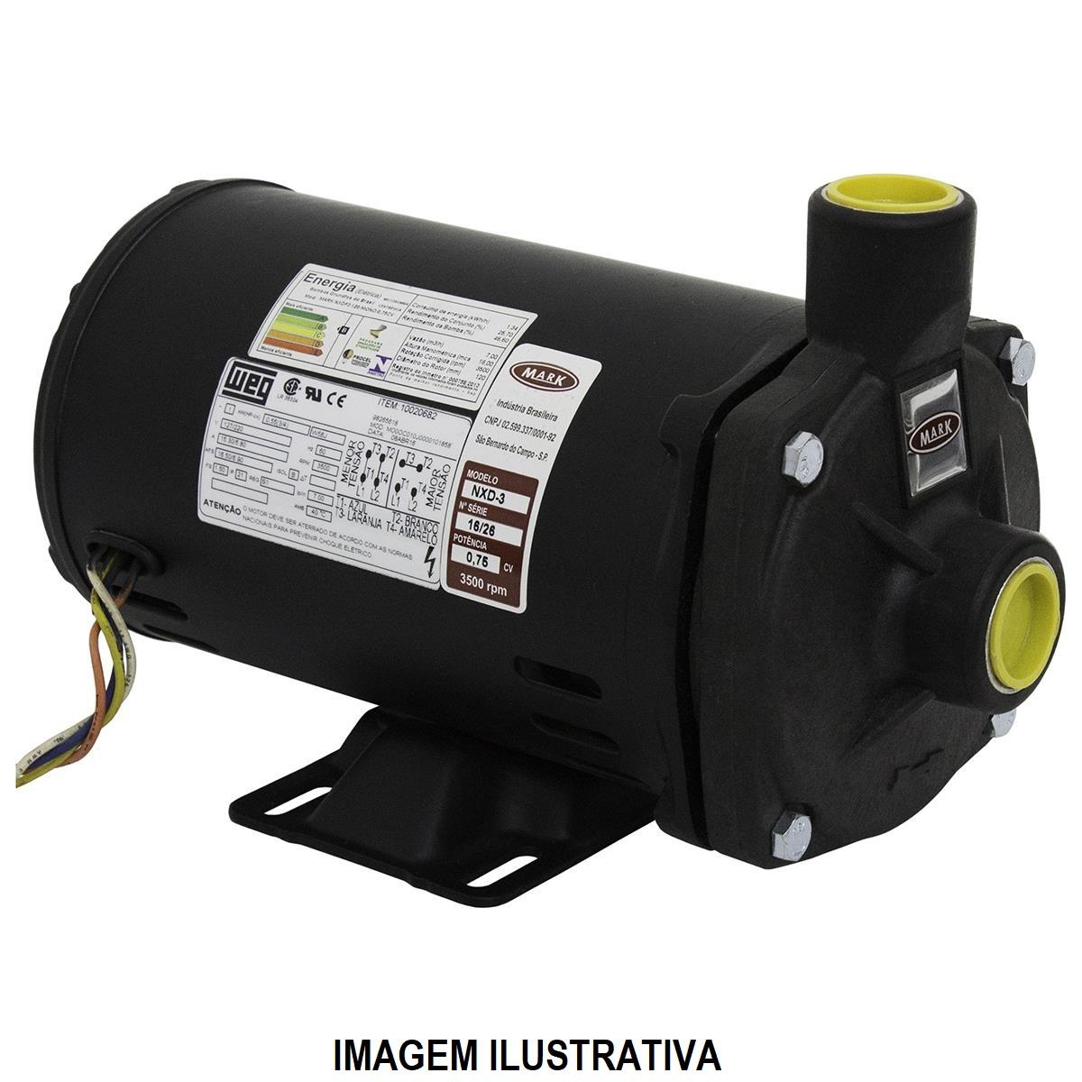 BOMBA MARK NXDP3 0,75CV MONO 220V