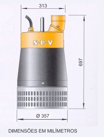 BOMBA SPV P- 50C HH 11CV