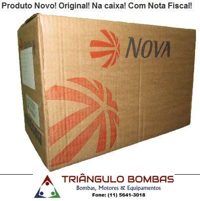 MOTOR NOVA MONOFÁSICO 3CV 110/220V ABERTO IP21