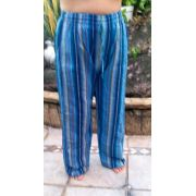Calça Pocket  Listrada Blue