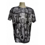 Camiseta ganesha black