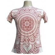 Camiseta Regata modelo red mandala