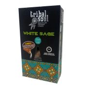 INCENSO TRIBAL SOUL WHITE SAGE  CONE