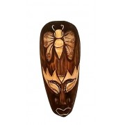 Mascara tribal Animais  BORBOLETA  20 cm