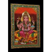 Pano Indiano Decorativo Lord Ganesh
