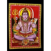 Pano Indiano Decorativo Lord Shiva