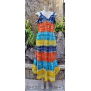 Vestido Indiano Colorful Gradient