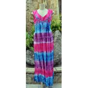 Vestido Indiano Gradient Flower