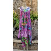 Vestido Indiano Purple Garden