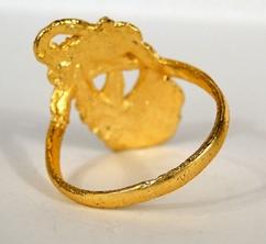 anel indiano em piligrana