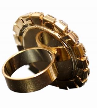 anel em metal king