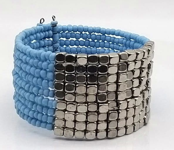 BRACELETE DE  MISSANGAS Light Blue