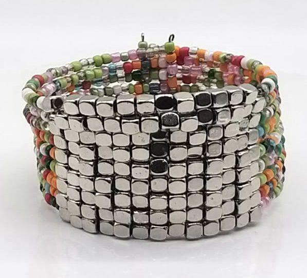 BRACELETE DE  MISSANGAS Light Beads