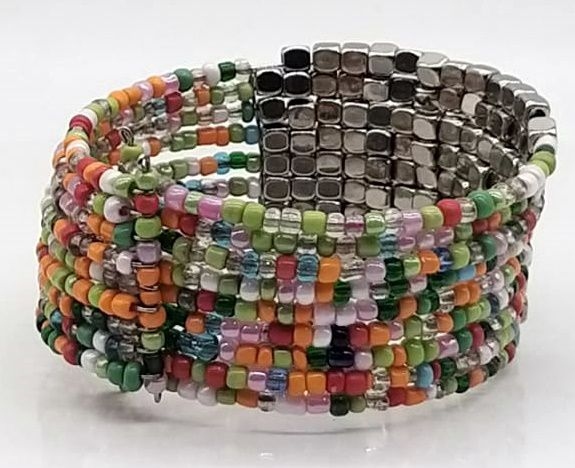 BRACELETE DE  MISSANGAS Light Beads