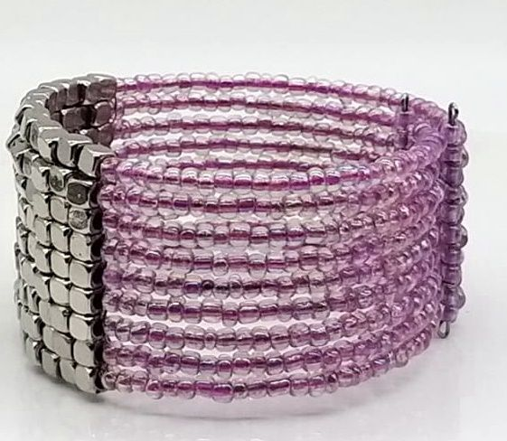 BRACELETE DE  MISSANGAS Rose Panel