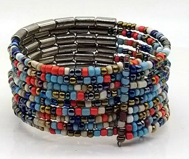 BRACELETE DE  MISSANGAS Color Beads