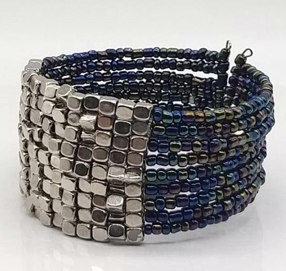BRACELETE DE  MISSANGAS Dark Beads