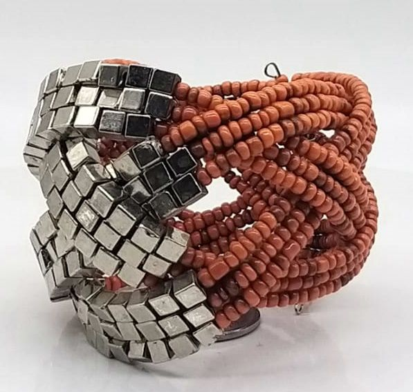 BRACELETE DE  MISSANGAS Orange Involved