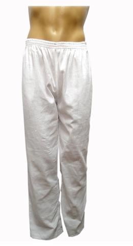 calça unissex branca