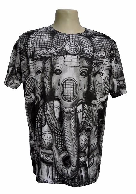 Camiseta ganesha black