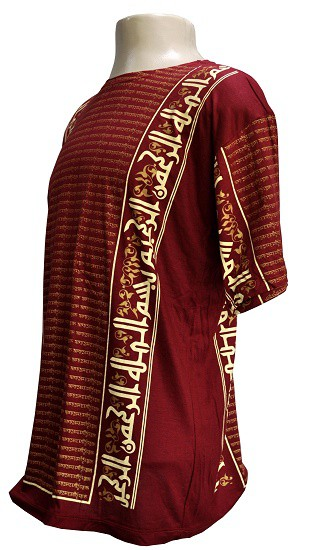 Camiseta modelo arabian mantra