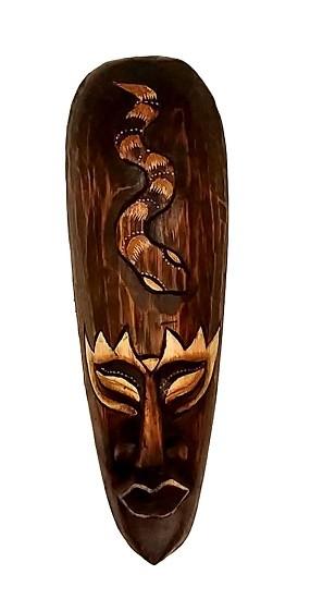 Mascara tribal Animais COBRA  30 cm