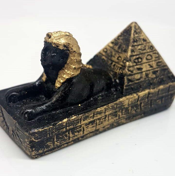 ESCULTURA DE ESFINGE EGIPCIA