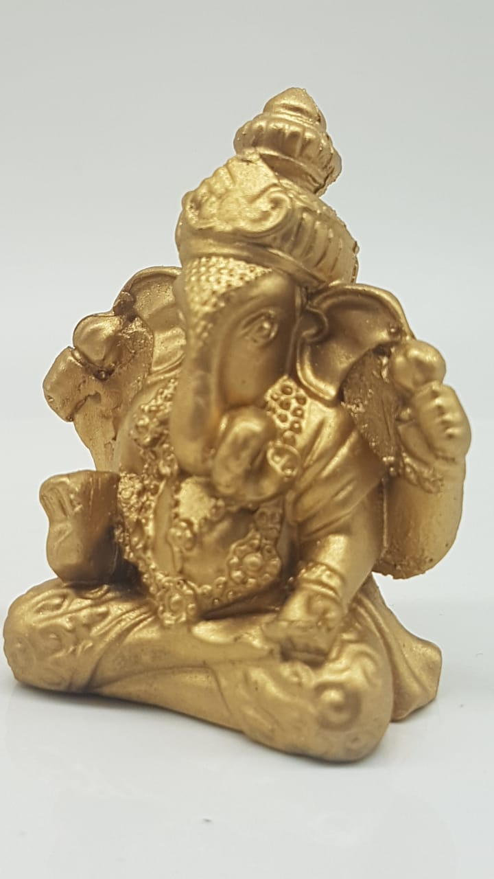 escultura de Ganesha em resina