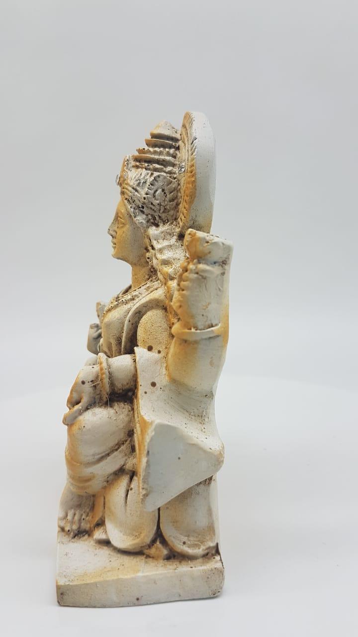 Escultura de Lakshmi em resina