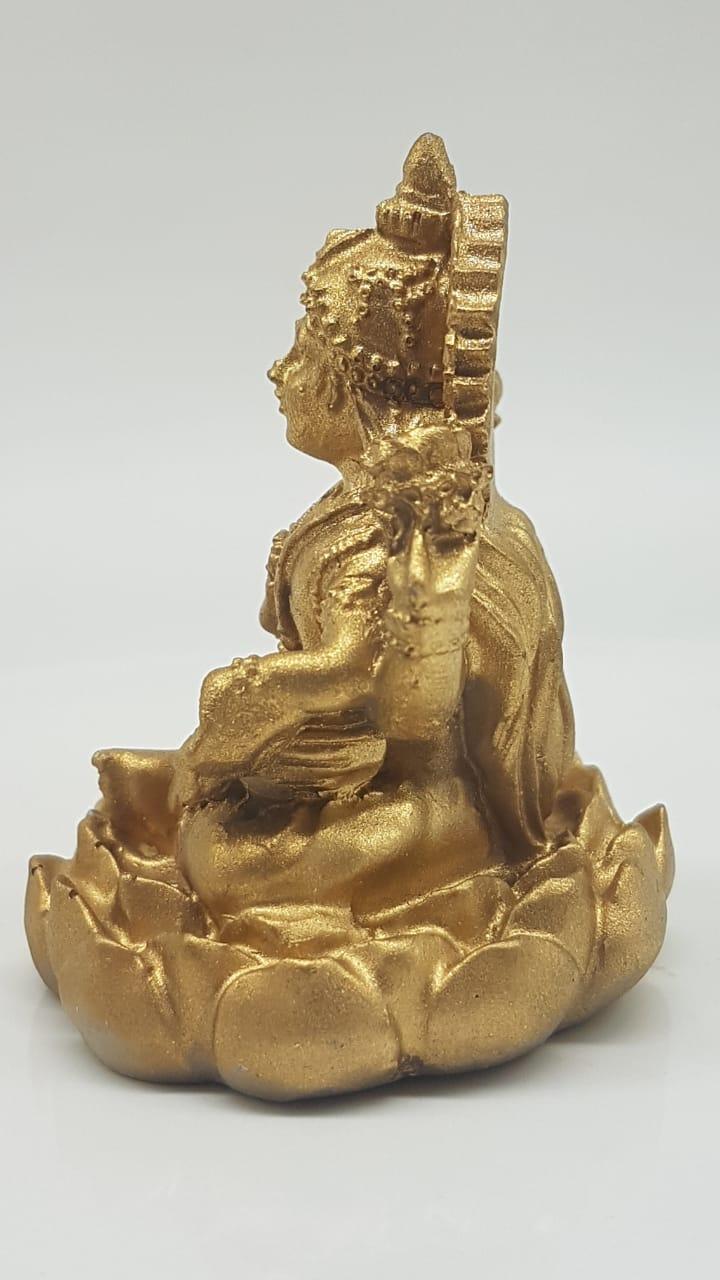 Escultura de Laskshmi em resina