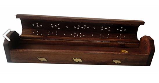 Incensario de madeira indiano Caixa