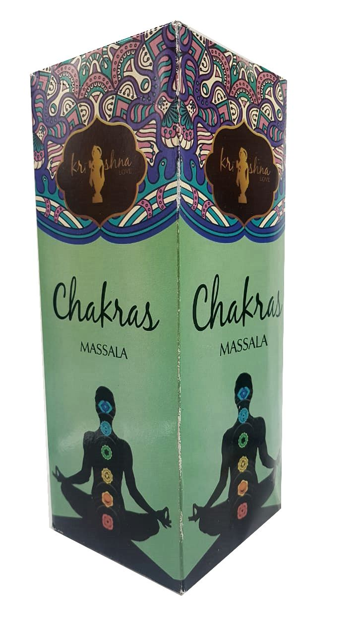 INCENSO KRISHNA LOVE - CHAKRAS - MASSALA