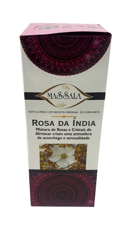 INCENSO KRISHNA LOVE - ROSA DA ÍNDIA -MASSALA