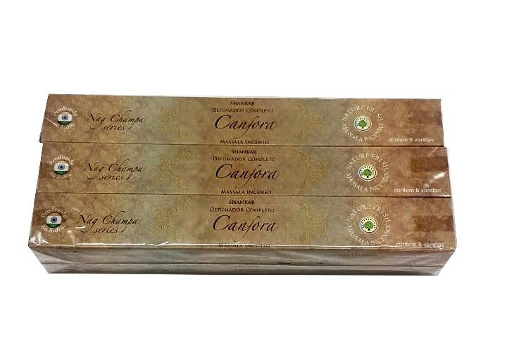 Incenso Shankar de Massala - Nag Champa Series - Canfora