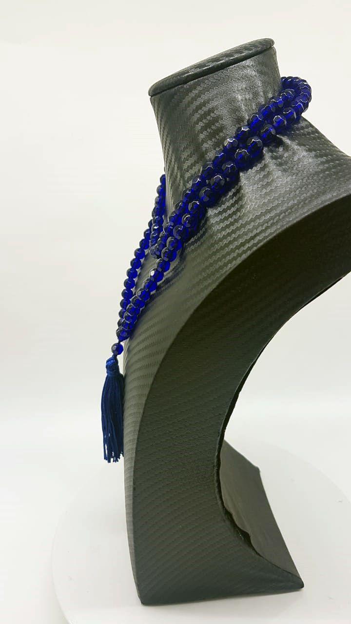 Japamala Blue Crystal