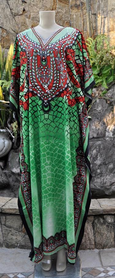 Kafta Indiana Longa modelo green garden